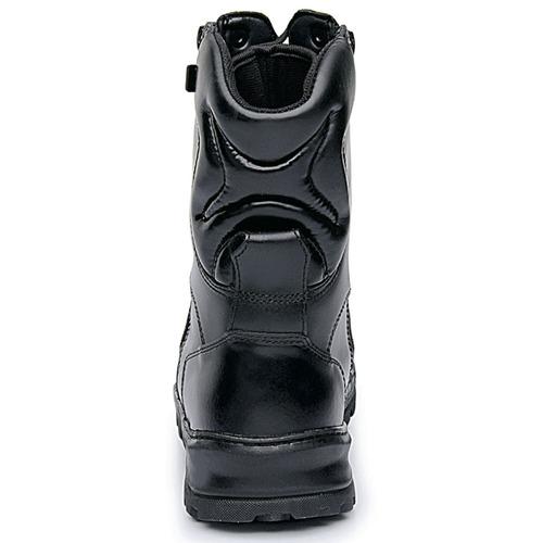 coturno bota rossi sniper dois zipers couro+ chinelo brinde