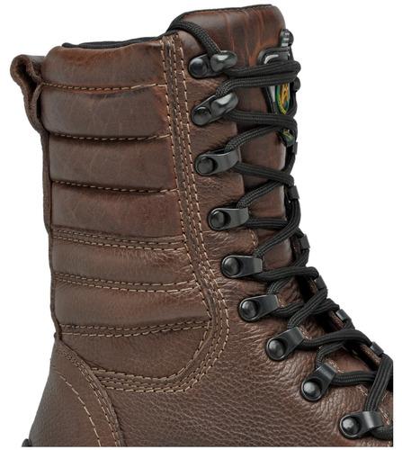 coturno bota tatico militar fbi rocan bope elite marron café