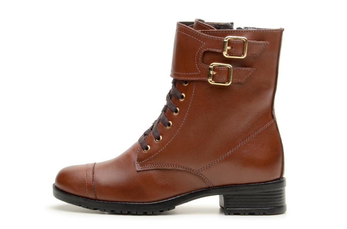 2ffffaf12 Carregando zoom... feminino bota coturno. Carregando zoom... coturno baixo  feminino bota couro marrom e preto estiloso