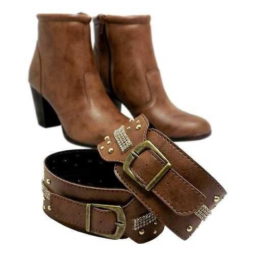 coturno feminino bota cano curto barata