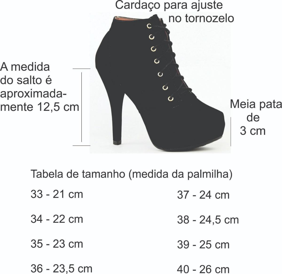 f28359f65 coturno feminino bota salto fino alto cano curto promoção. Carregando zoom.