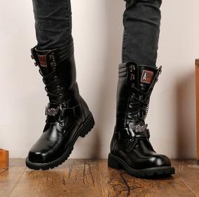 20b6731eab Jaqueta De Couro Punk Masculina Masculino - Botas Outras Marcas para ...