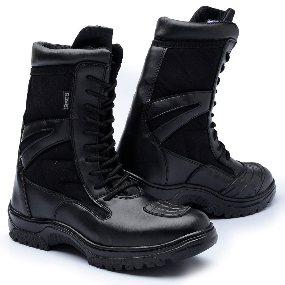 92c9c7692f coturno masculino bota rossi super leve militar tático palmi. Carregando  zoom.