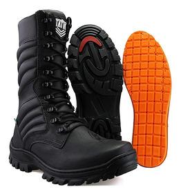 5b9da74dd Coturno Militar Cano Medio Masculino Botas - Calçados, Roupas e ...