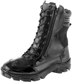 84a08a2b6 Coturno Force Militar Ziper - Botas Coturnos para Masculino no Mercado  Livre Brasil