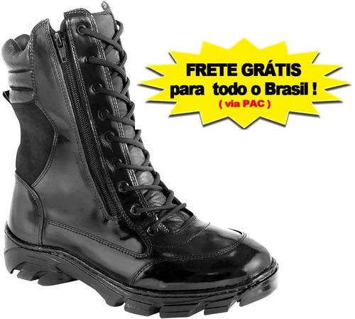 coturno militar bota tatica swat frete grátis *12x s/ juros*