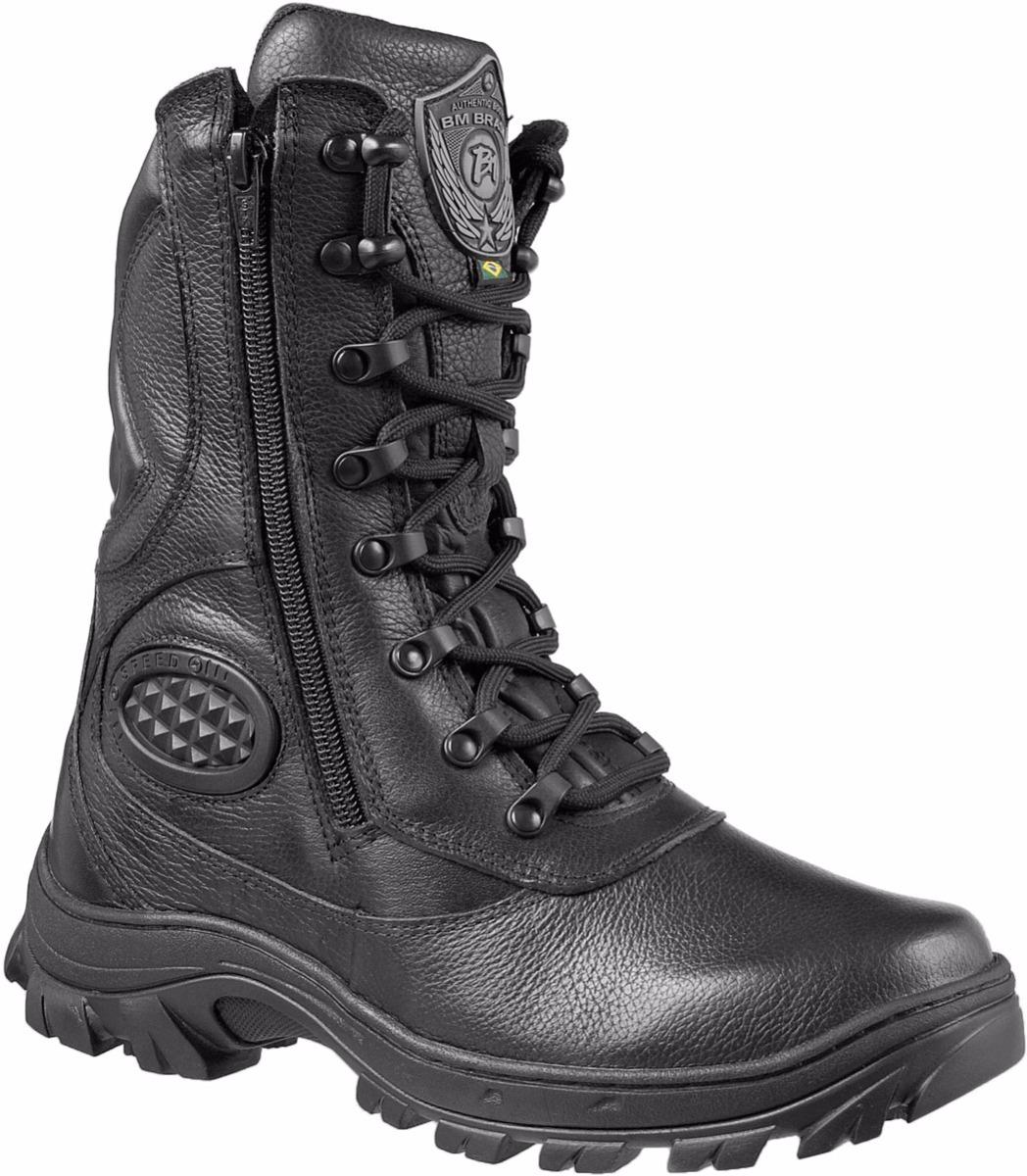 d6fcae51f Coturno Militar Botas Unissex Confortável 5179 - R$ 208,00 em ...