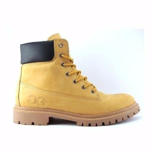 002a651fe Coturno Qix Double G Caramelo Yeloow Boot - R$ 299,90 em Mercado Livre