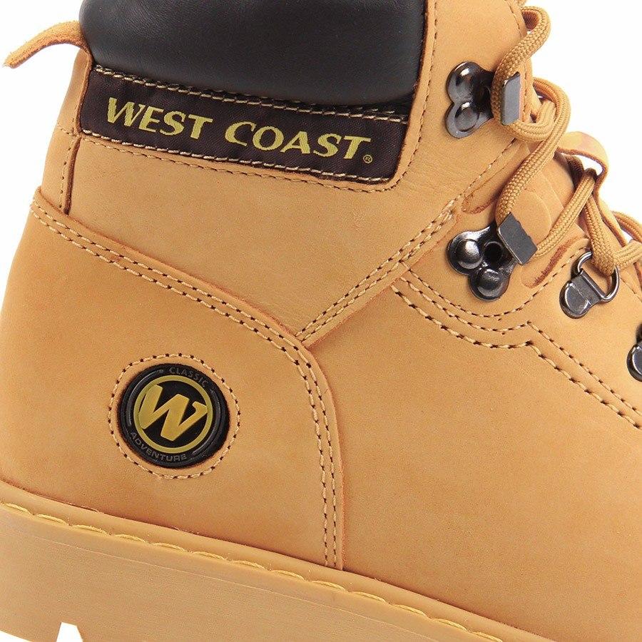 dbee2a3e9 Coturno West Coast Worker 5790 - Amarelo - R  249