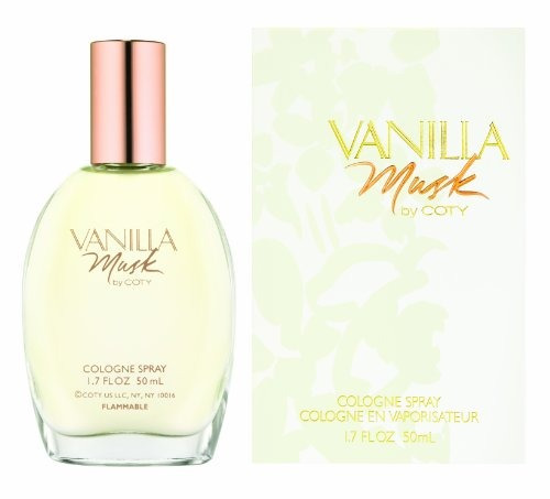 coty vanilla musk for women cologne spray 17 oz