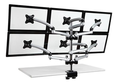 cotytech seis monitor desk mount arm clamp base de primav