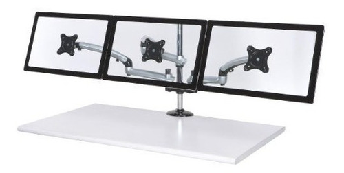cotytech triple monitor desk mount spring bramp base de suje