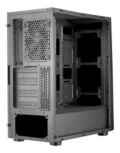 cougar gabinete mx340 cristal templado media torre