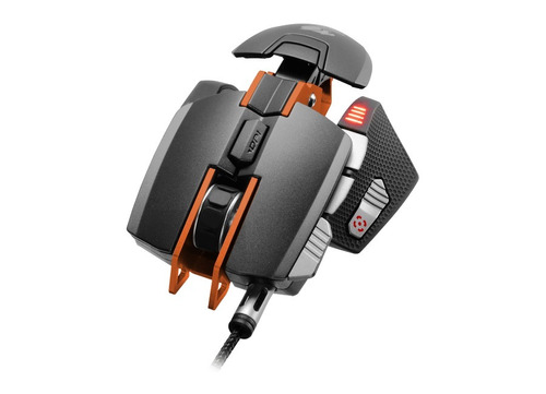 cougar mouse gamer superior 700m color negro