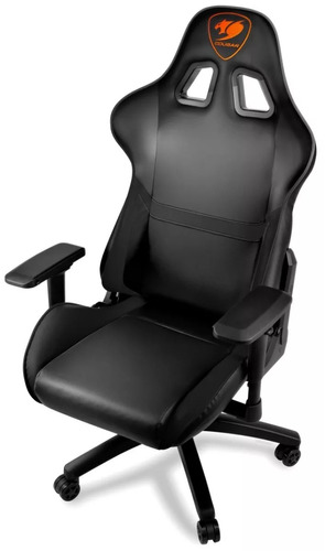 cougar silla gamer armor color negro