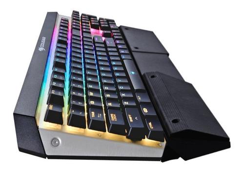 cougar teclado gamer attack x3 rgb mecanico switch brown