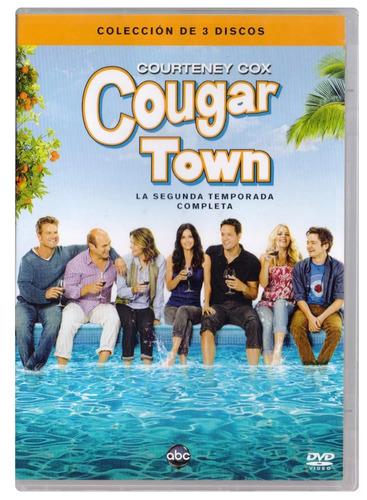 cougar town segunda temporada 2 dos courteney cox dvd