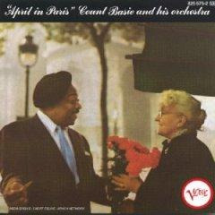 **count basie **april in paris   **cd