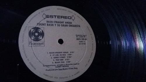 count basie straight ahead lp vinilo jazz