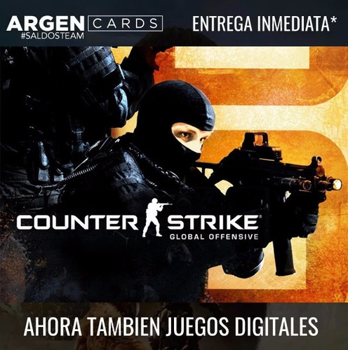 counter strike: global offensive - key steam -cs go - csgo