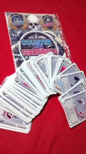 counter vs terrorista - juego de mesa - controversial 2019