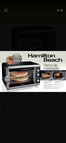 countertop oven hamilton beach
