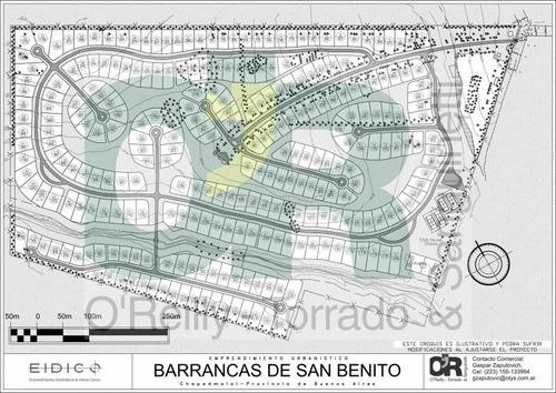 countries y barrios cerrados venta barrancas de san benito