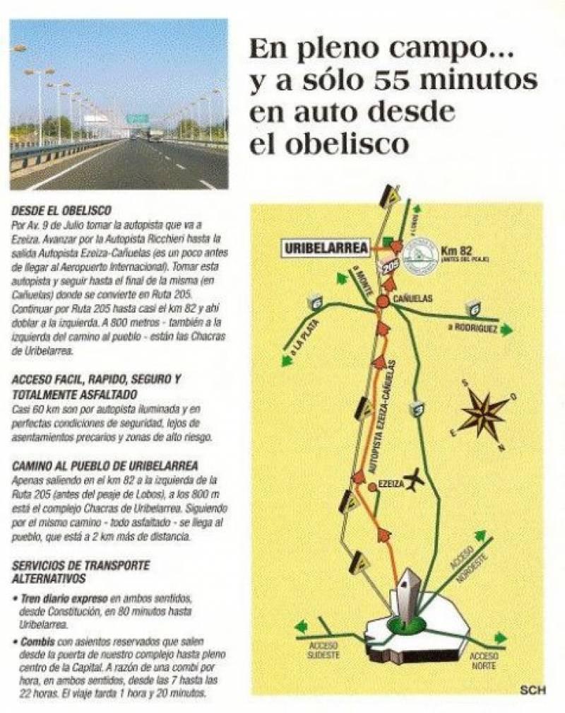 countries y barrios cerrados venta chacras de uribelarrea