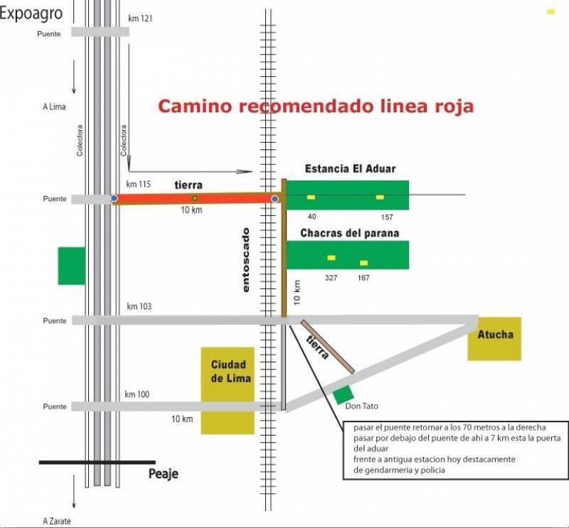 countries y barrios cerrados venta chacras del paraná