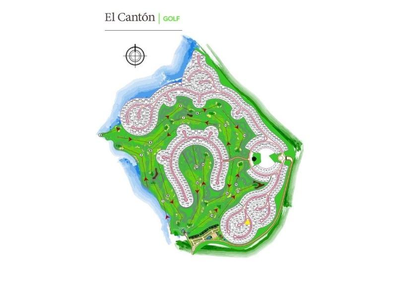 countries y barrios cerrados venta el cantón golf