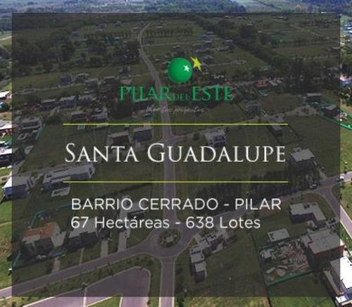 countries y barrios cerrados venta pilar del este sta. guadalupe