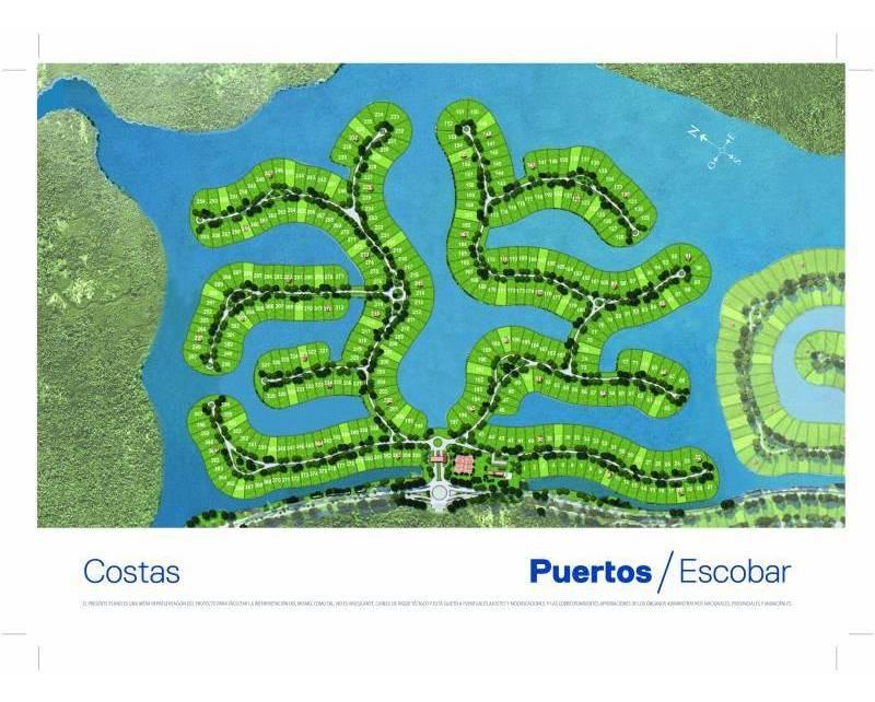 countries y barrios cerrados venta puertos - costas