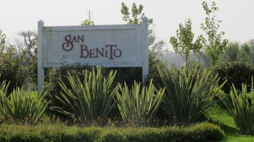 countries y barrios cerrados venta san benito
