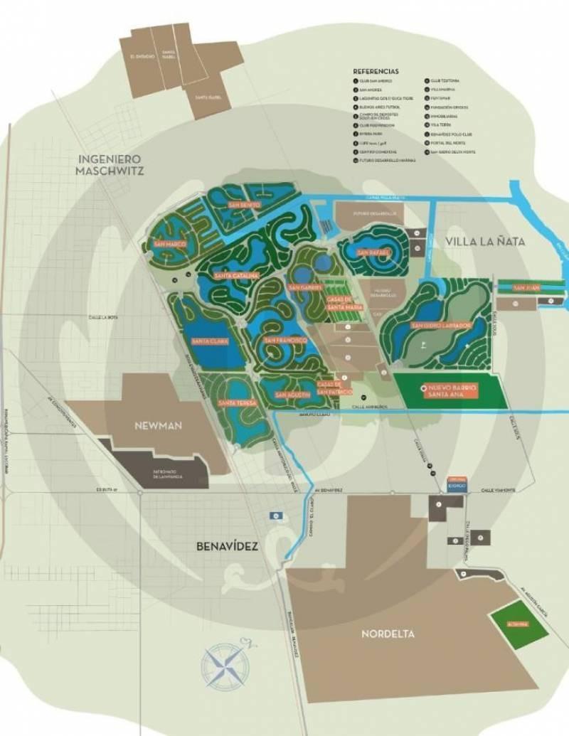 countries y barrios cerrados venta san marco