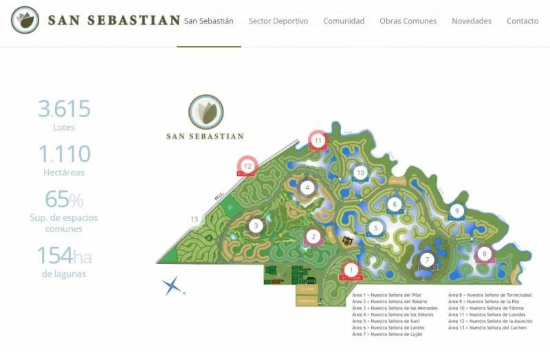 countries y barrios cerrados venta san sebastian rosario