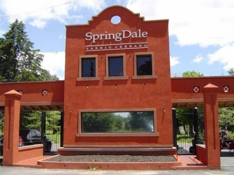 countries y barrios cerrados venta springdale