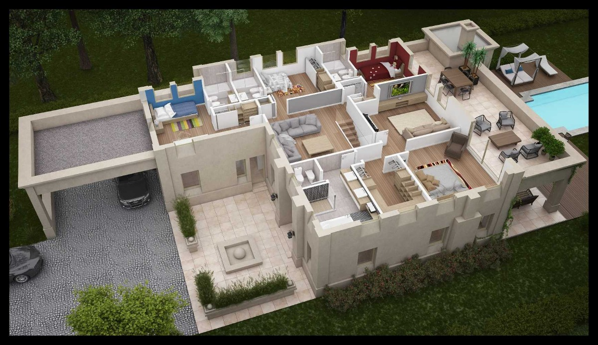 country bs as golf club - residencia 6 amb 423m2 nuevo valor