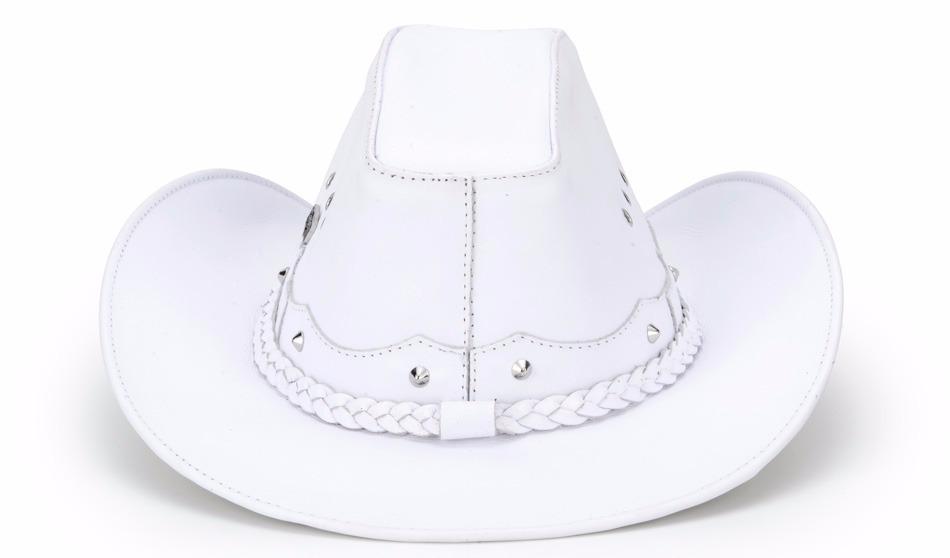 Carregando zoom... chapéu country americano feminino 100% couro texas  capelli 683903980b2