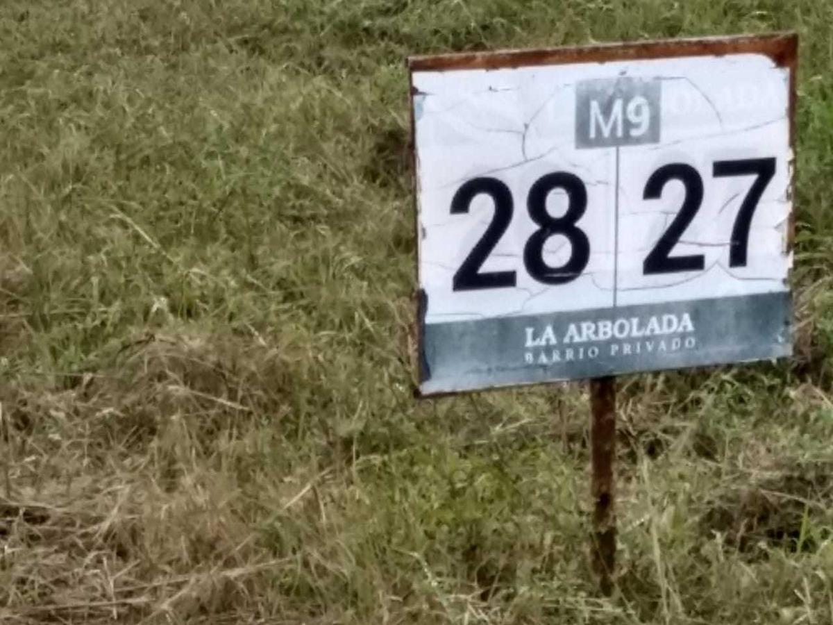 country la arbolada camino a carlos paz. escritura. 1250 m2 - posesion inmediata