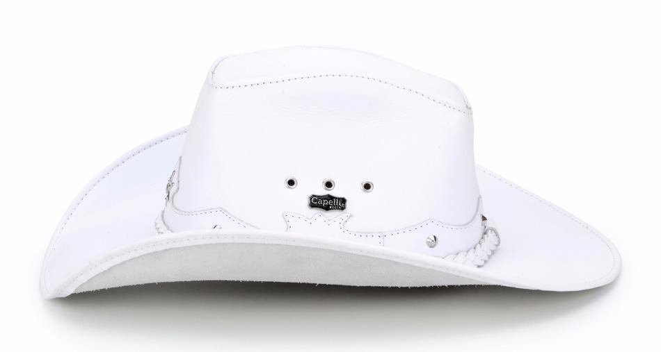 Carregando zoom... chapéu country americano masculino 100% couro texas  capelli 1da4763259d