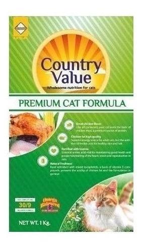 country value gatos adultos 2 kg