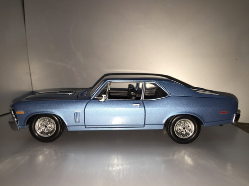 coupe chevy nova ss 1970 maisto escala 1/24