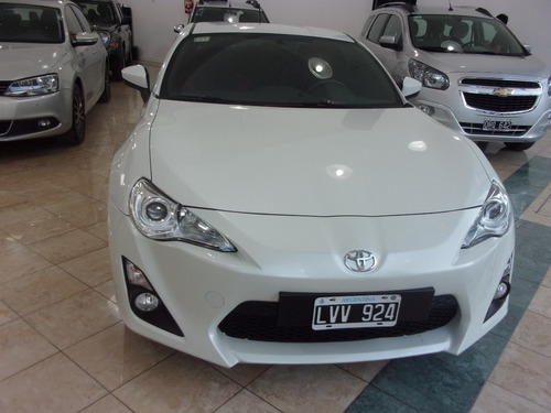 coupe toyota 86 ft 200 cv año 2013 impecable!!