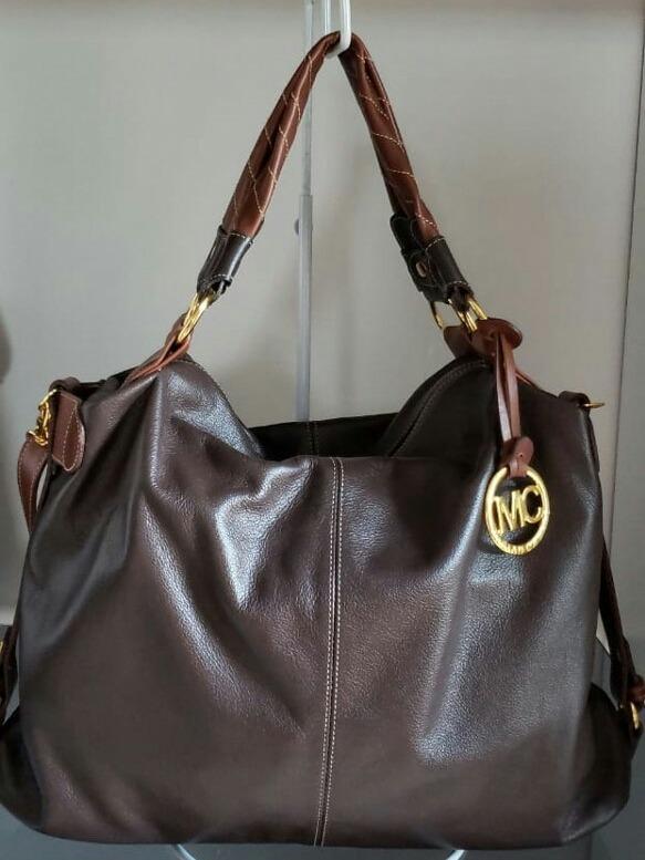 couro alça bolsa feminina · bolsa feminina tipo saco couro legítimo alça  tira colo 74c5ac52754