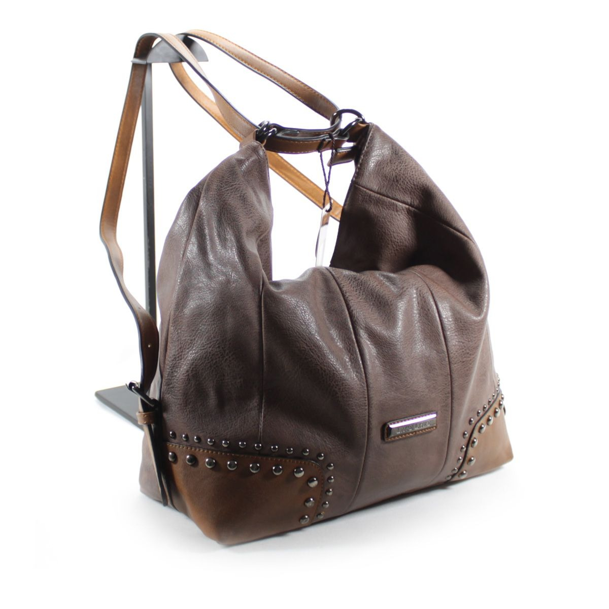 4320cceeba Carregando zoom... bolsa feminina grande couro ecologico bolsa e mochila -  nova