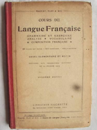 cours de langue française hachette gramatica vocabulario l4