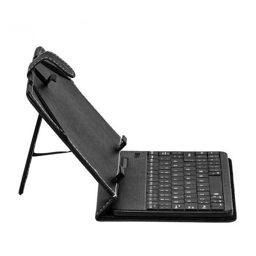 cover argom para tableta 7 , negro, con teclado, tipo folio