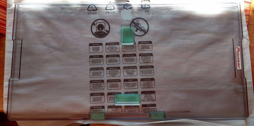 cover case decksaver para pioneer ddj-rx,ddj-sx2,ddj-sx