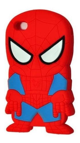 cover case silicona spiderman - hombre araña  iphone 4 4s