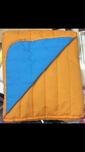cover cubrecama linea colors verano reversible liso 2 1/2 pz